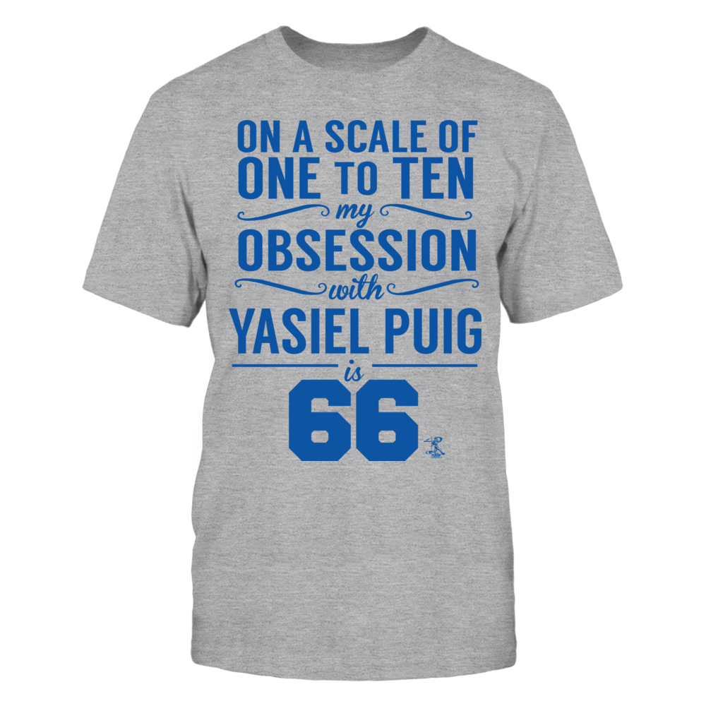 Yasiel Puig - Obsession Level Front picture