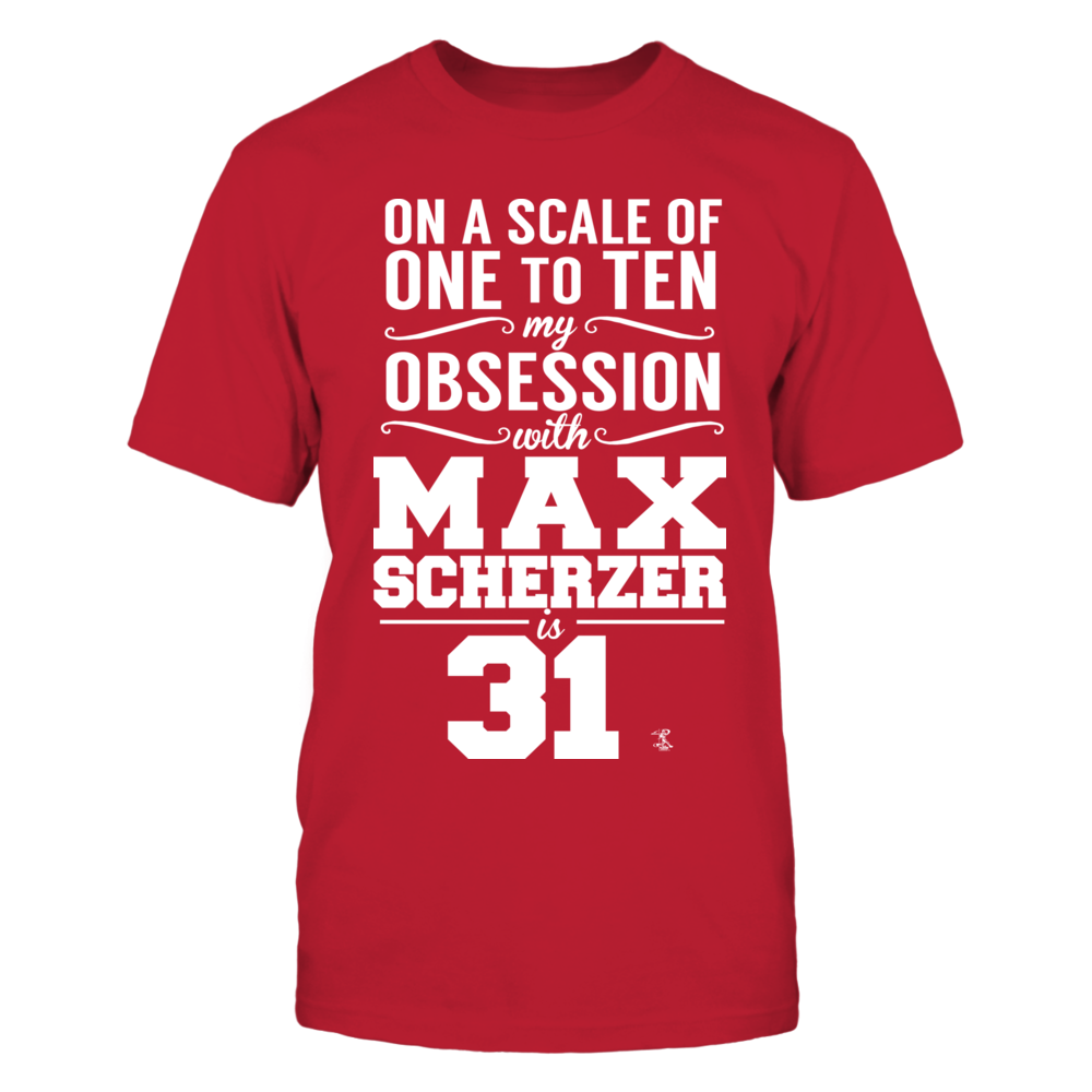 Max Scherzer - Obsession Level Front picture