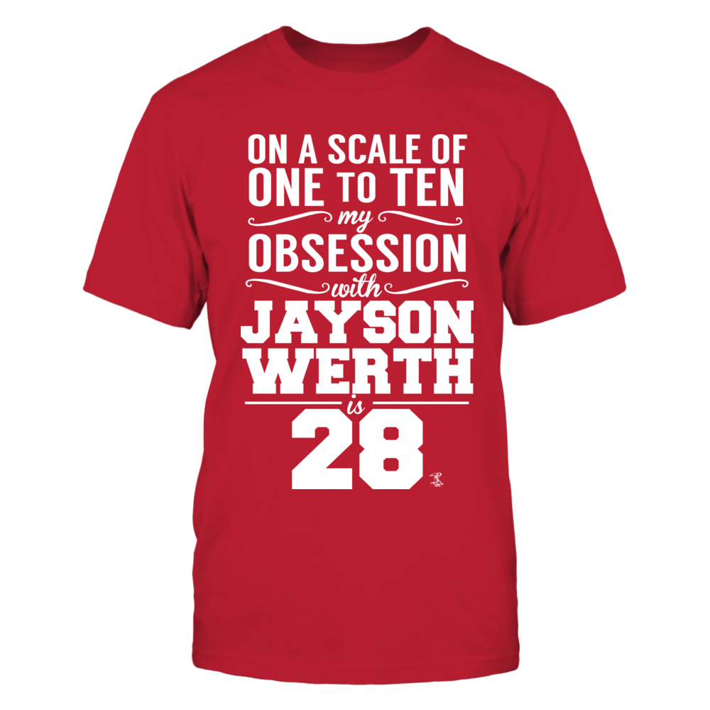 Jayson Werth - Obsession Level Front picture