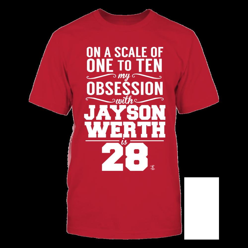 Jayson Werth Jayson Werth - Obsession Level FanPrint