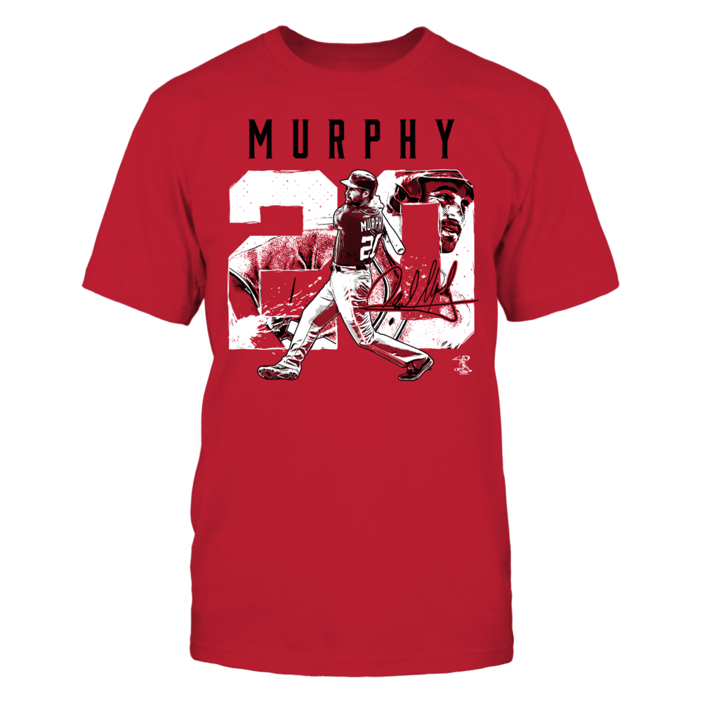 Daniel Murphy - Player Number Front picture
