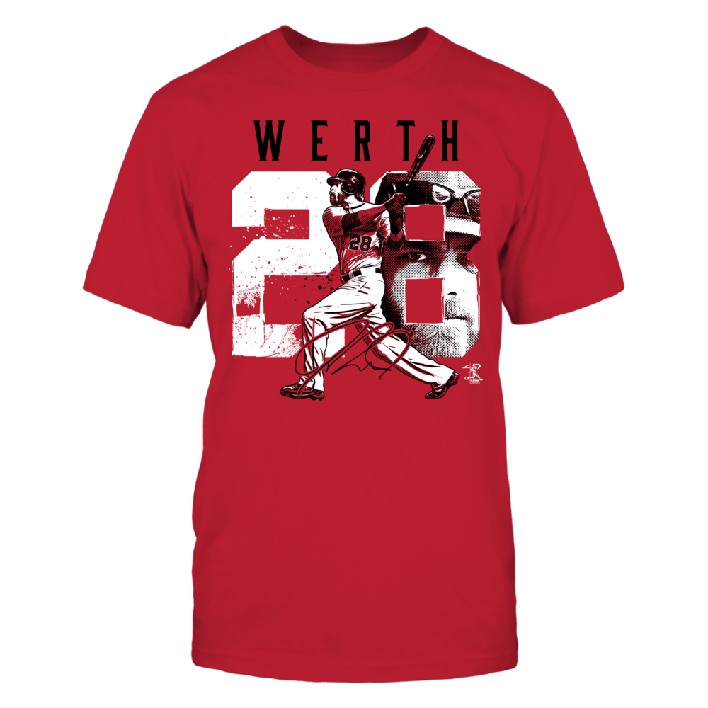 Jayson Werth - Player Number Front picture