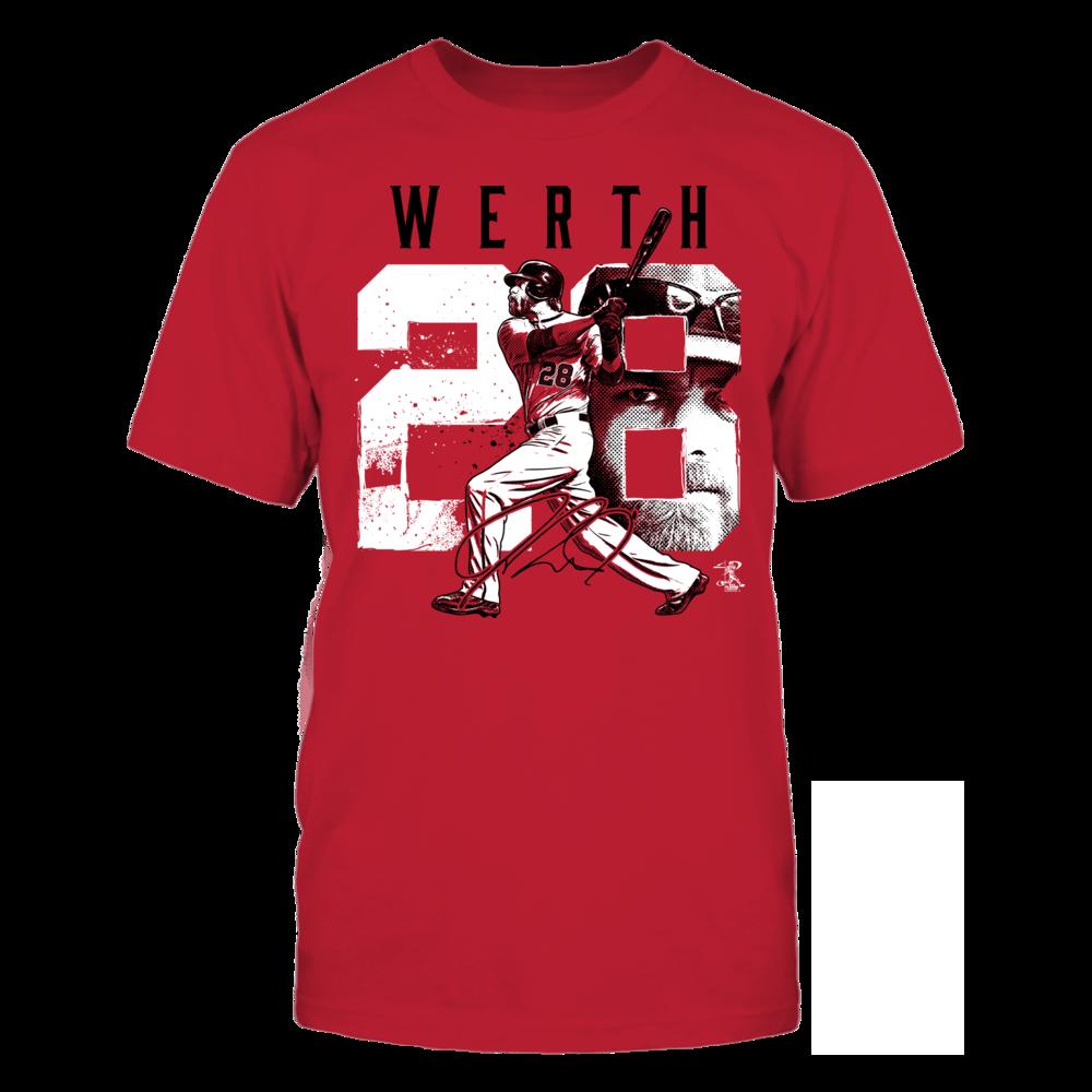 Jayson Werth Jayson Werth - Player Number FanPrint