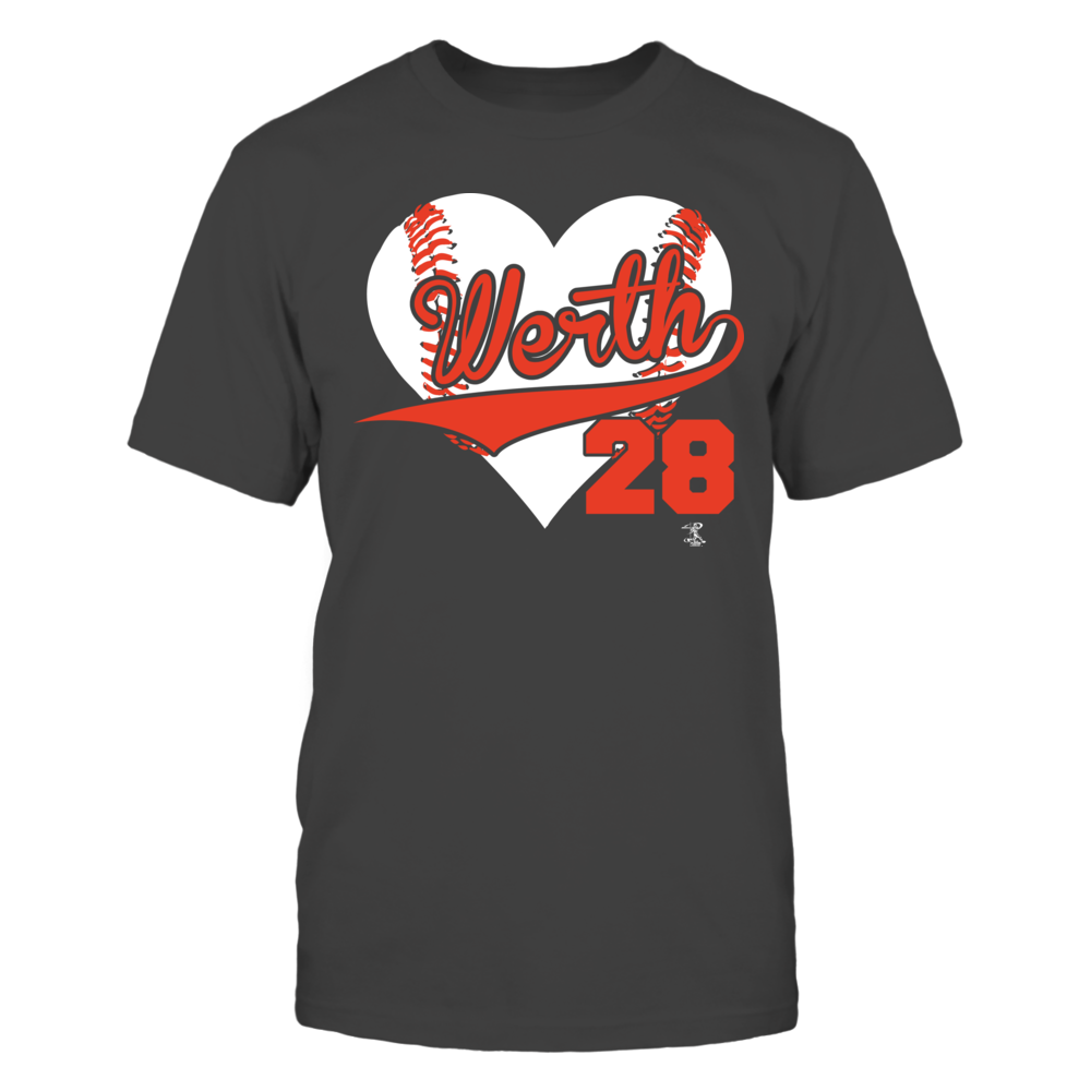 Jayson Werth Jayson Werth - Heart Number FanPrint