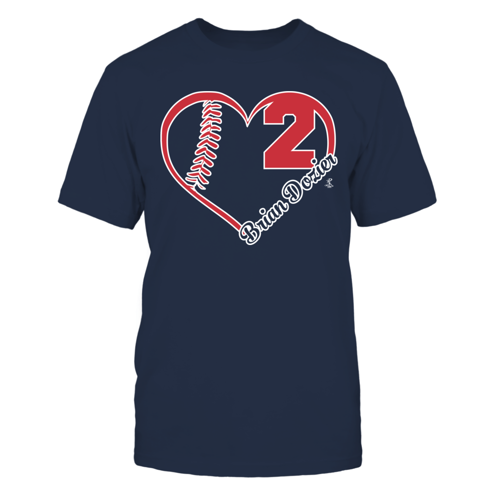 Brian Dozier - Heart Team Front picture
