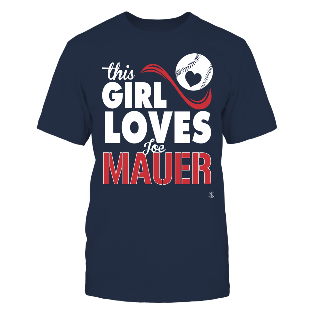 Joe Mauer Joe Mauer - This Girl Loves FanPrint