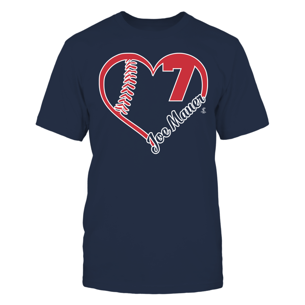 Joe Mauer Joe Mauer - Heart Team FanPrint