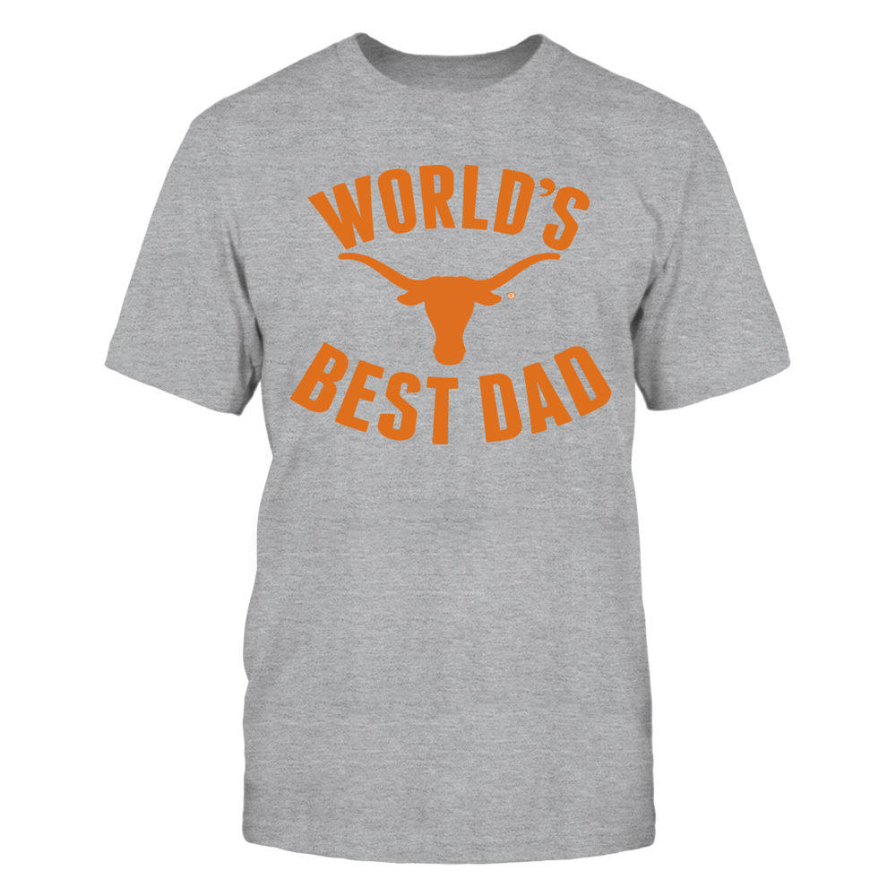 UT Longhorns World's Best Dad Front picture