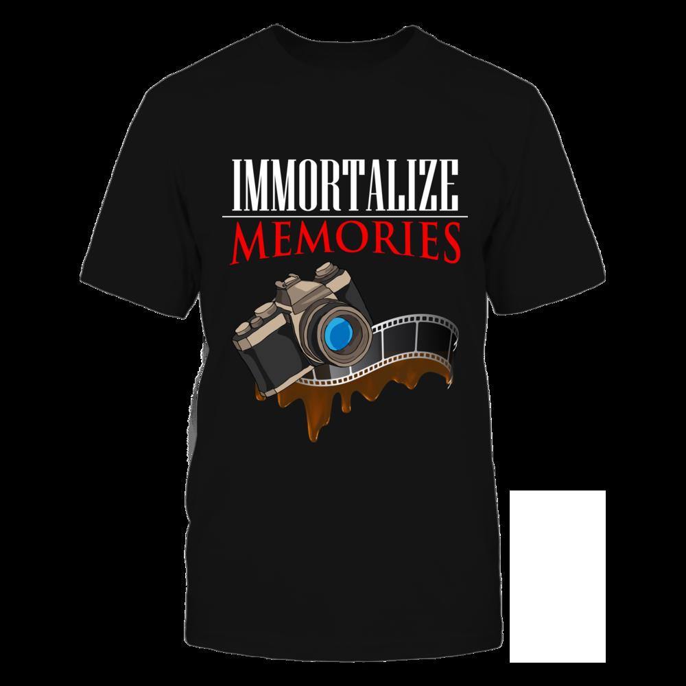 TShirt Hoodie Immortalize Memories Photography Tshirt FanPrint