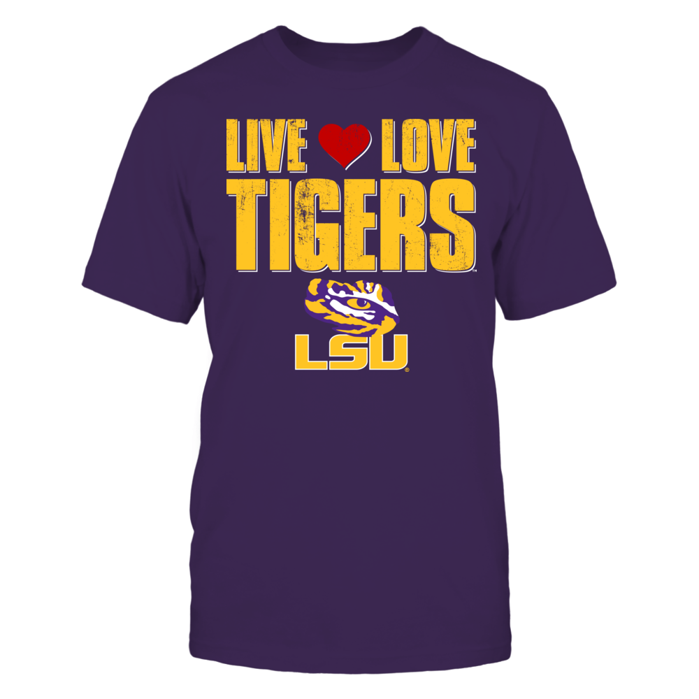 Live Love Tigers - Louisiana State University Front picture