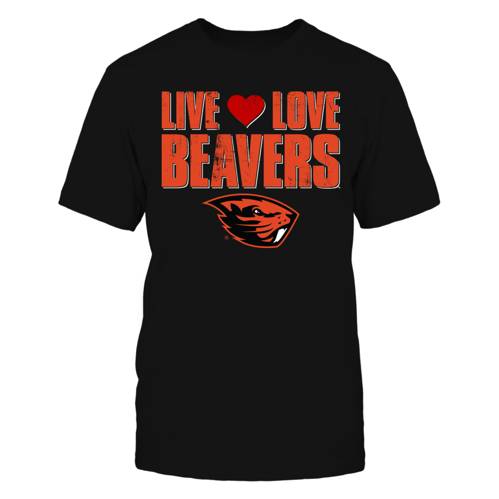 Live Love Beavers - Oregon State University Front picture