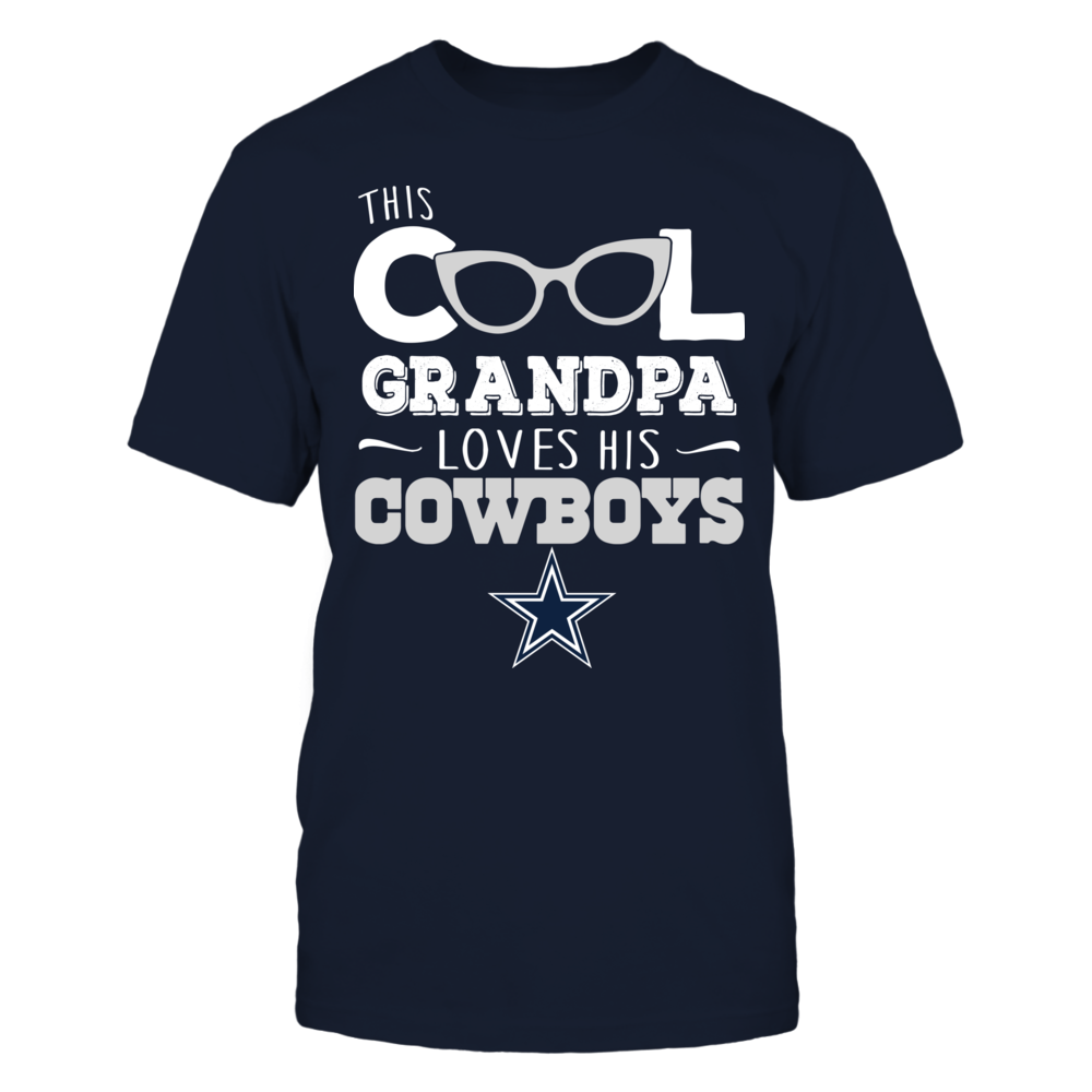 Dallas Cowboys - Cool Grandpa Loves His Cowboys Front picture