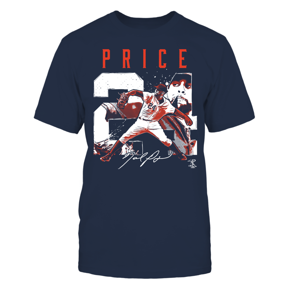 David Price David Price - Player Number FanPrint