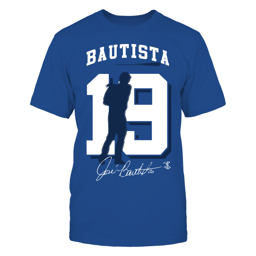Jose Bautista - Player Number Silhouette Front picture
