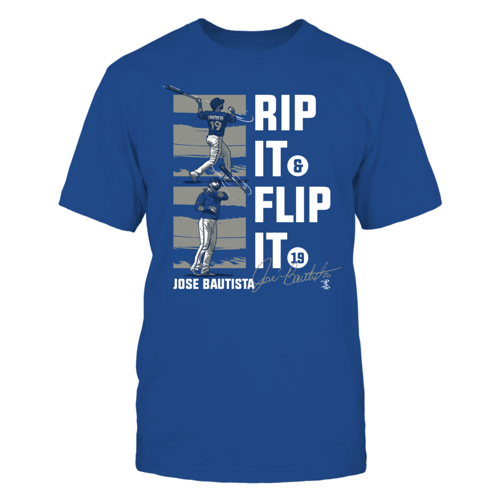 Jose Bautista - Rip It Flip It Front picture