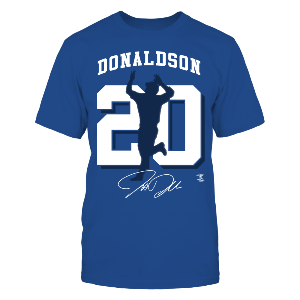 Josh Donaldson - Player Number Silhouette Front picture