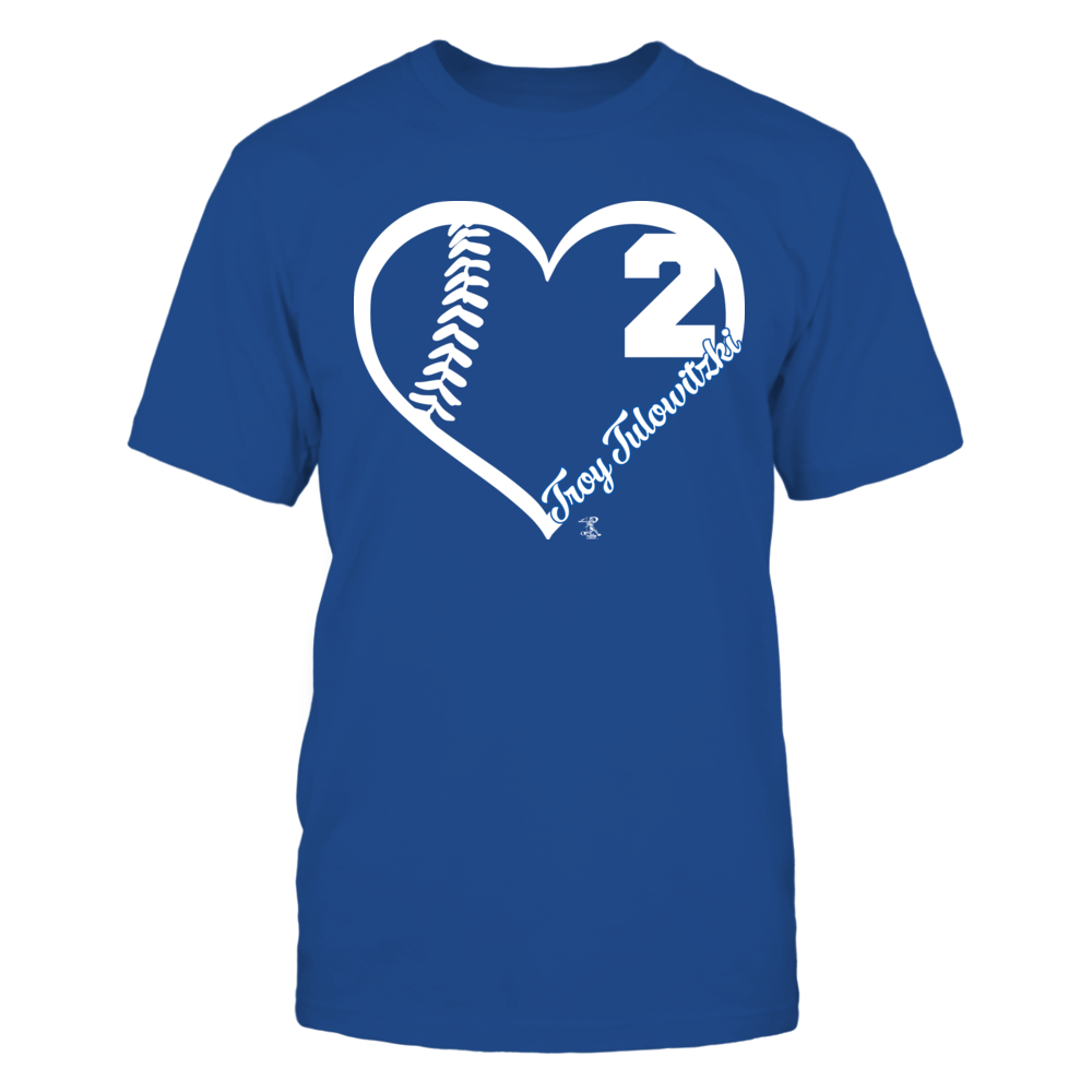 Troy Tulowitzki - Heart Team Front picture