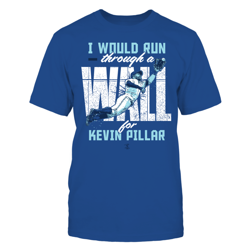 Kevin Pillar - Run Through A Wall Front picture