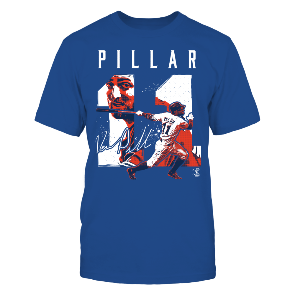 Kevin Pillar - Player Number Front picture