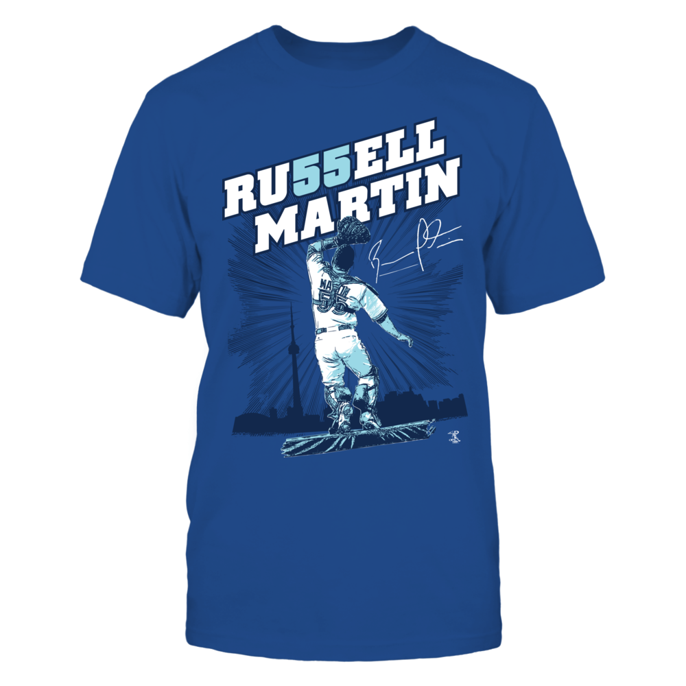 Russell Martin - Number In Name Front picture