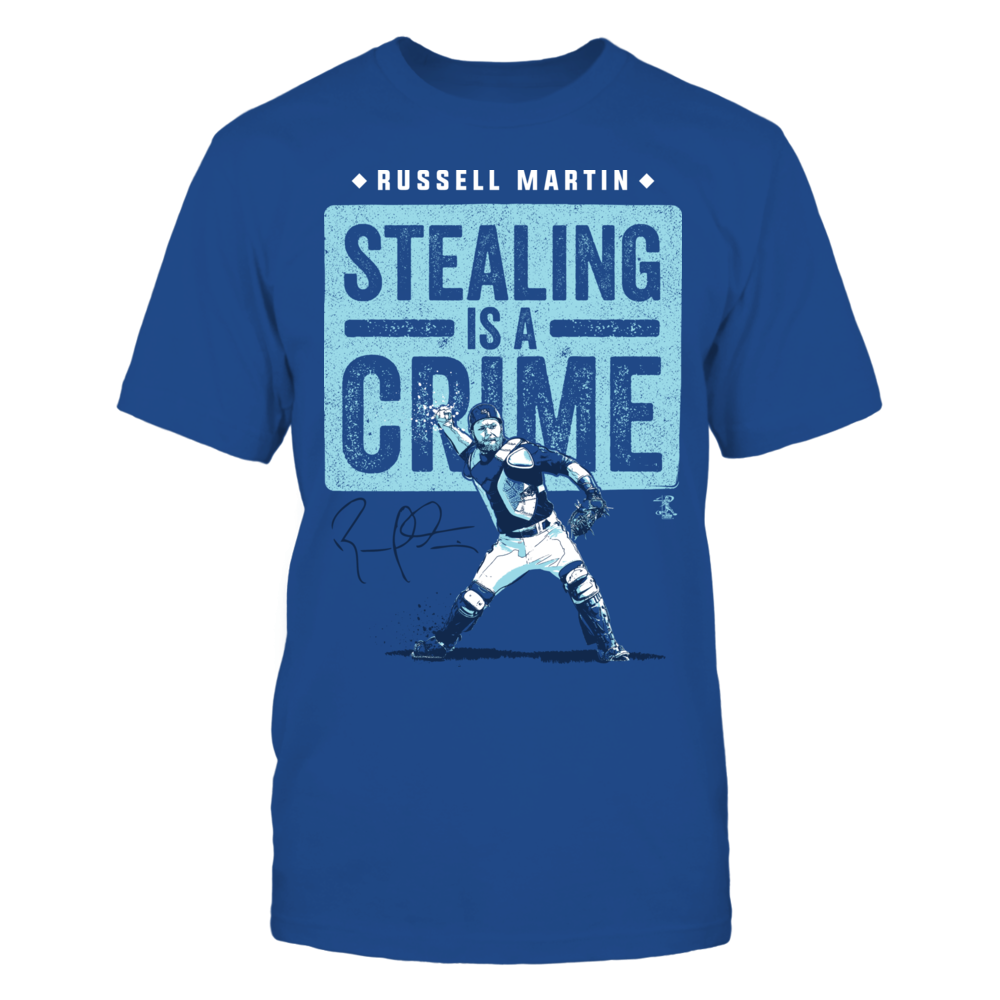 Russell Martin - Stealing Is A Crime Front picture