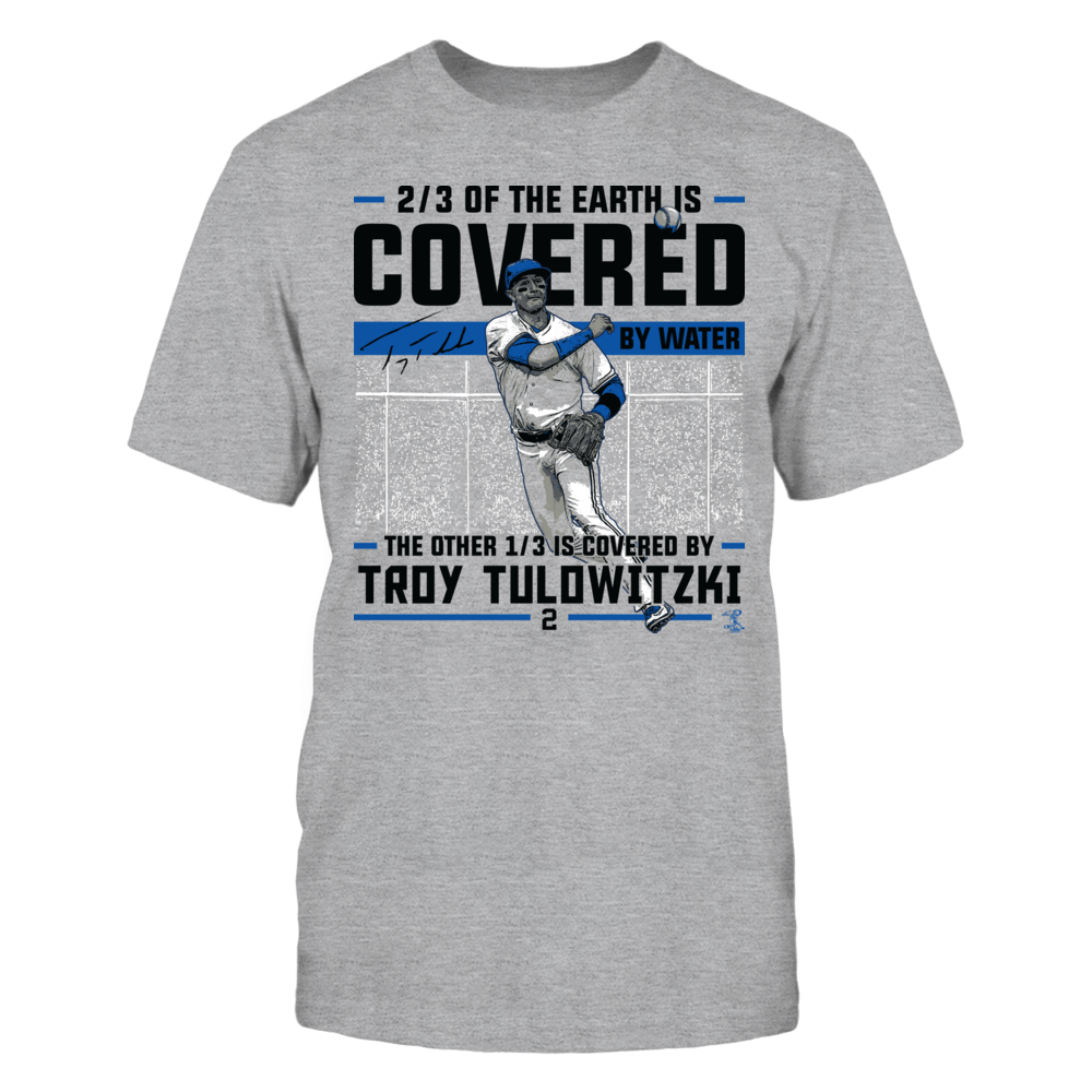 Troy Tulowitzki - Covered By Front picture