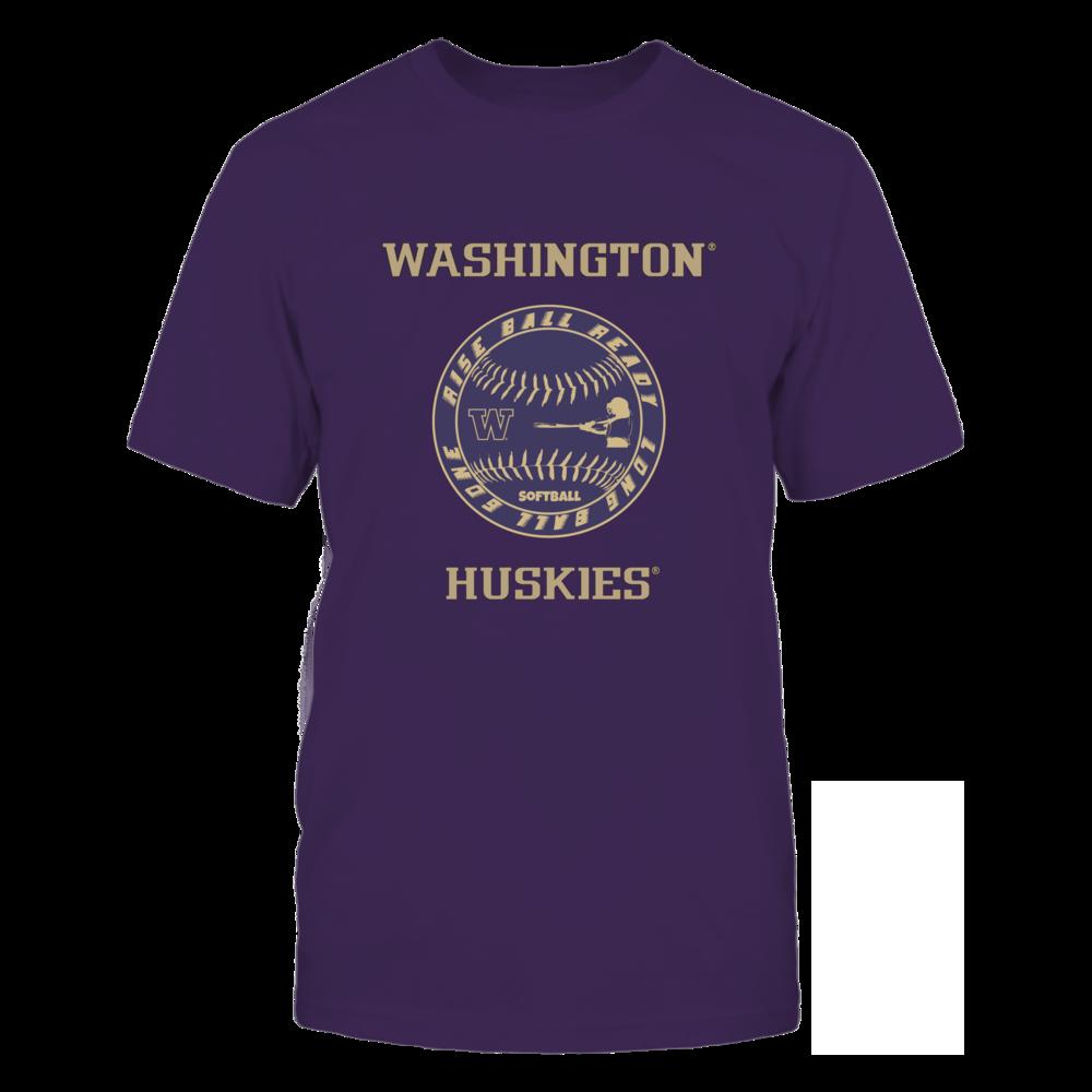 Washington Huskies Softball - Rise Ball Ready Front picture