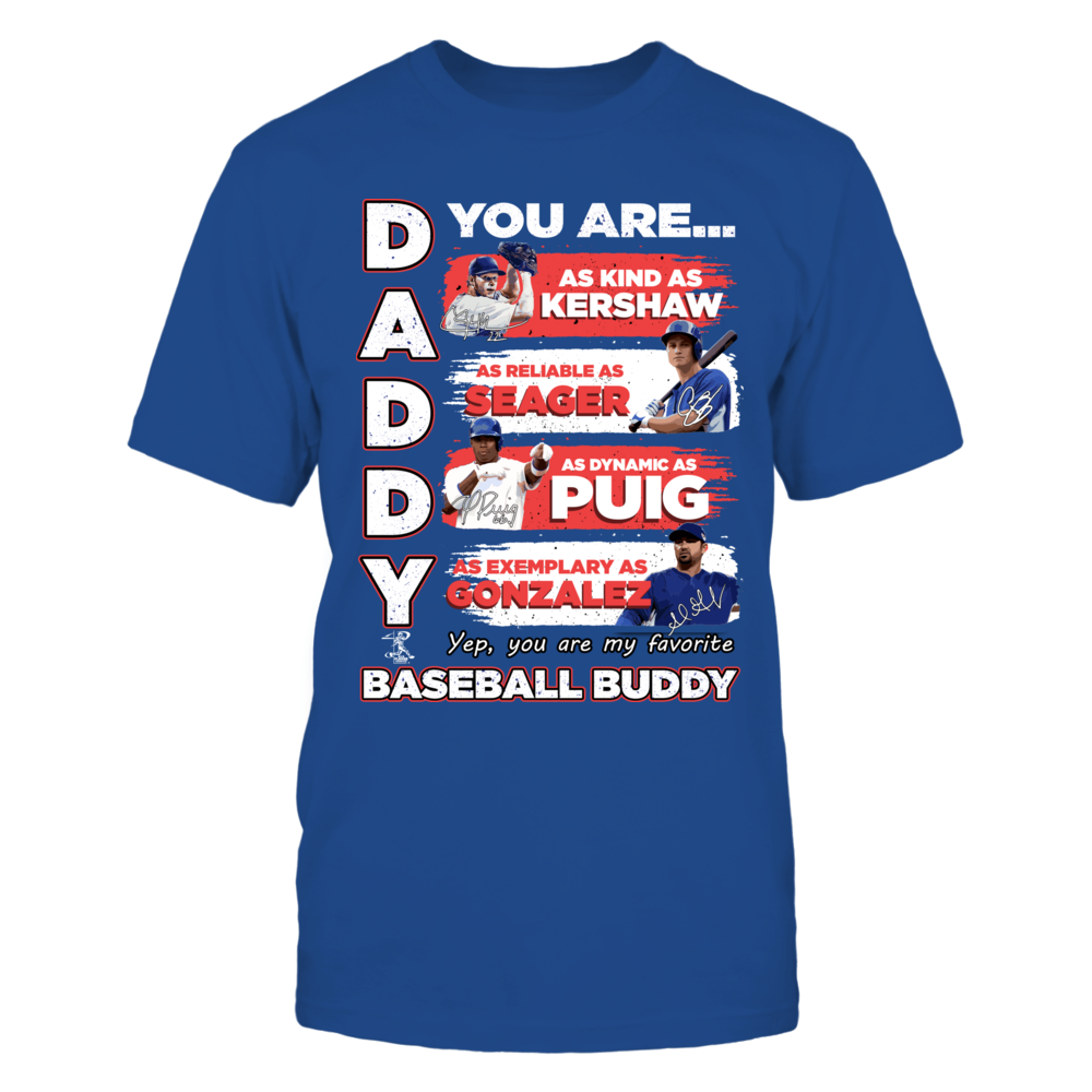 DADDY YOU ARE BASEBALL BUDDY Front picture