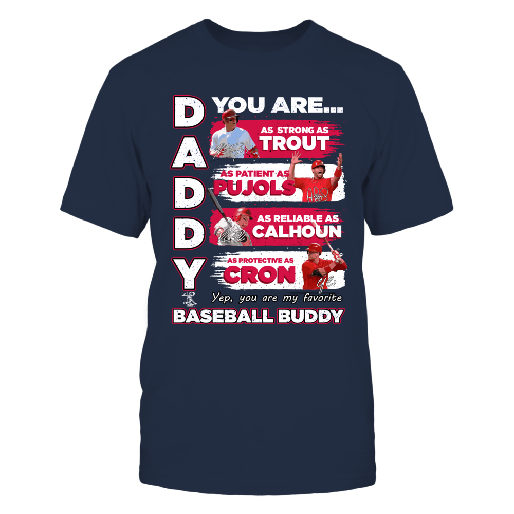 ANGELS - DADDY YOU ARE BASEBALL BUDDY Front picture