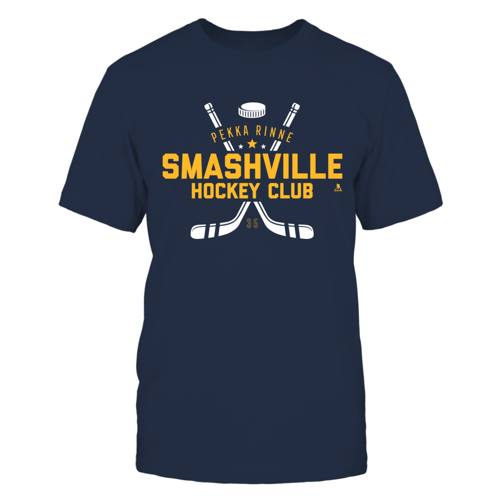 Pekka Rinne - Smashville Hockey Club Front picture