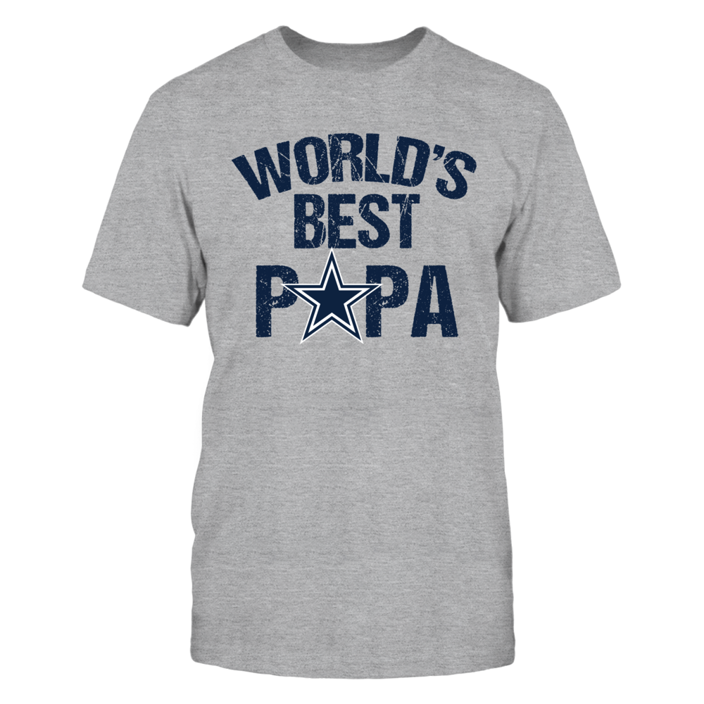 Dallas Cowboys World's Best Papa Front picture