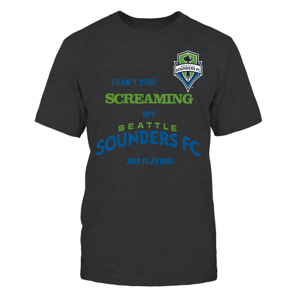 Seattle Sounders - I Can't Stop Screaming! Front picture