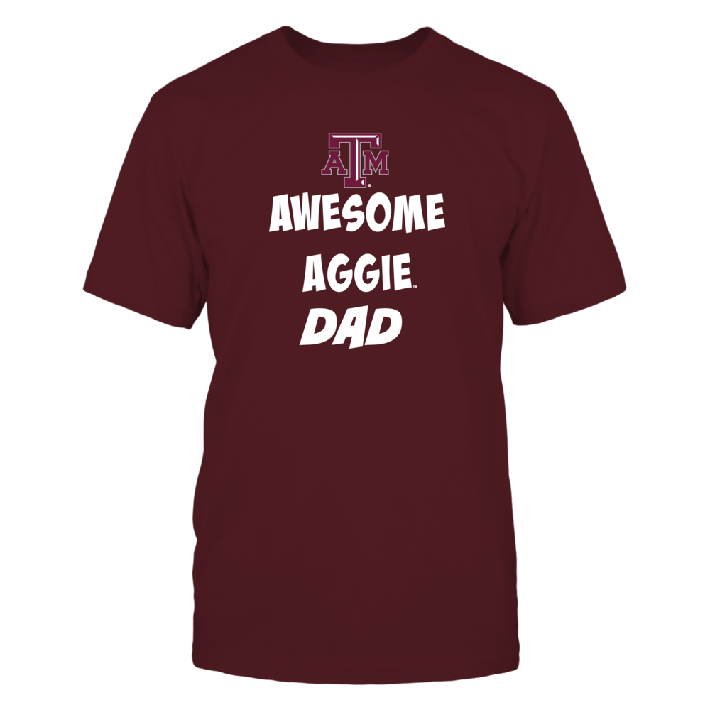 Texas Aggie Awesome Dad Front picture