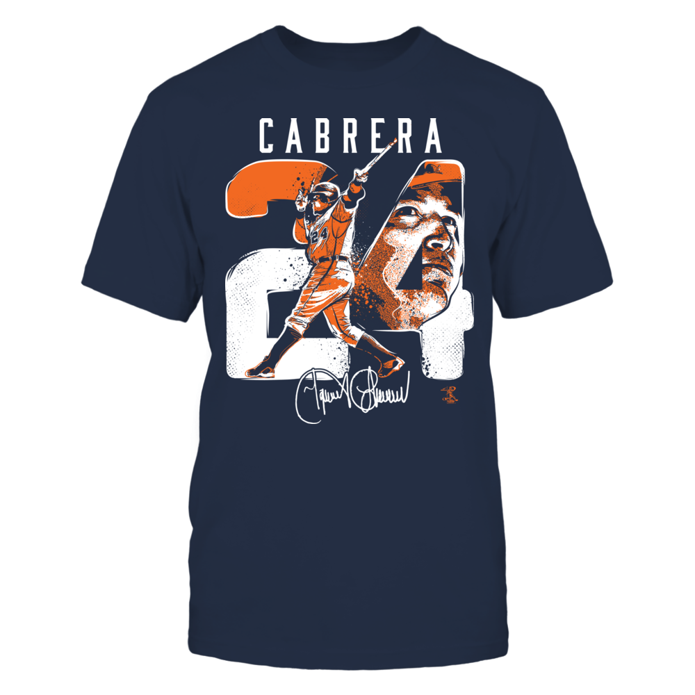 Miguel Cabrera - Player Number Front picture