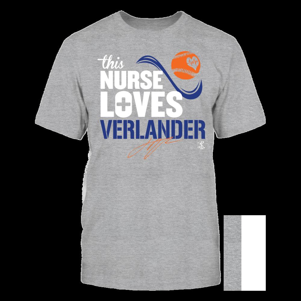 Justin Verlander Justin Verlander - This Nurse Loves FanPrint