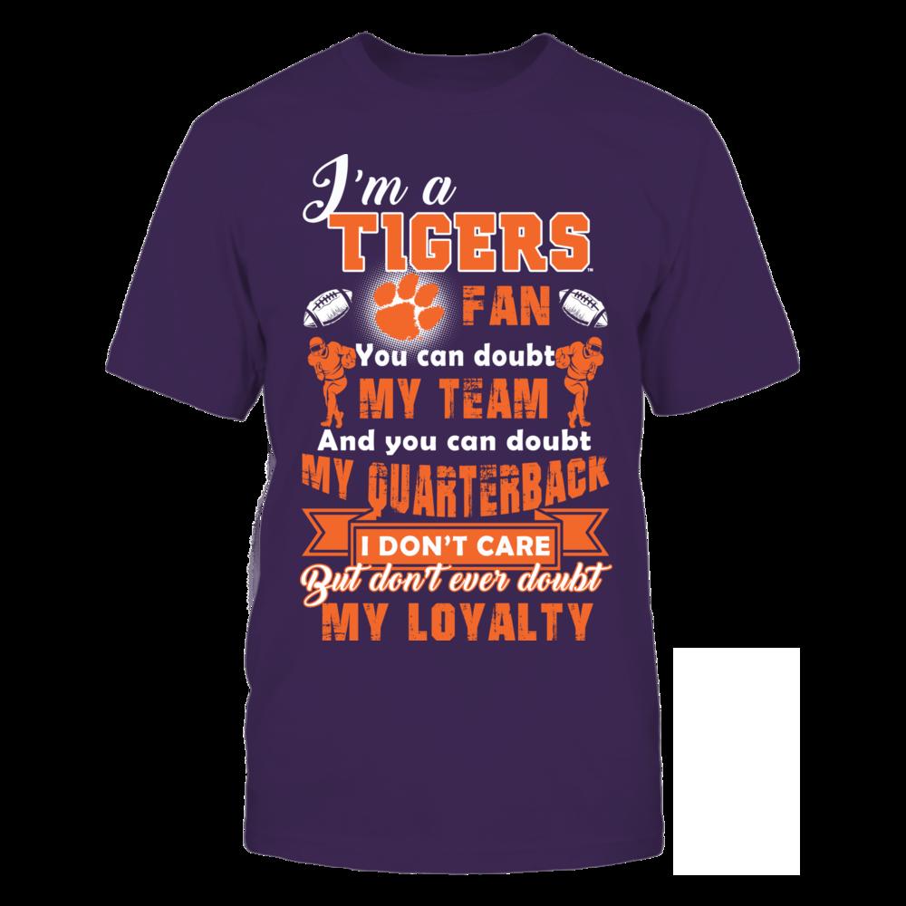 I Am A Clemson Tigers Fan Front picture