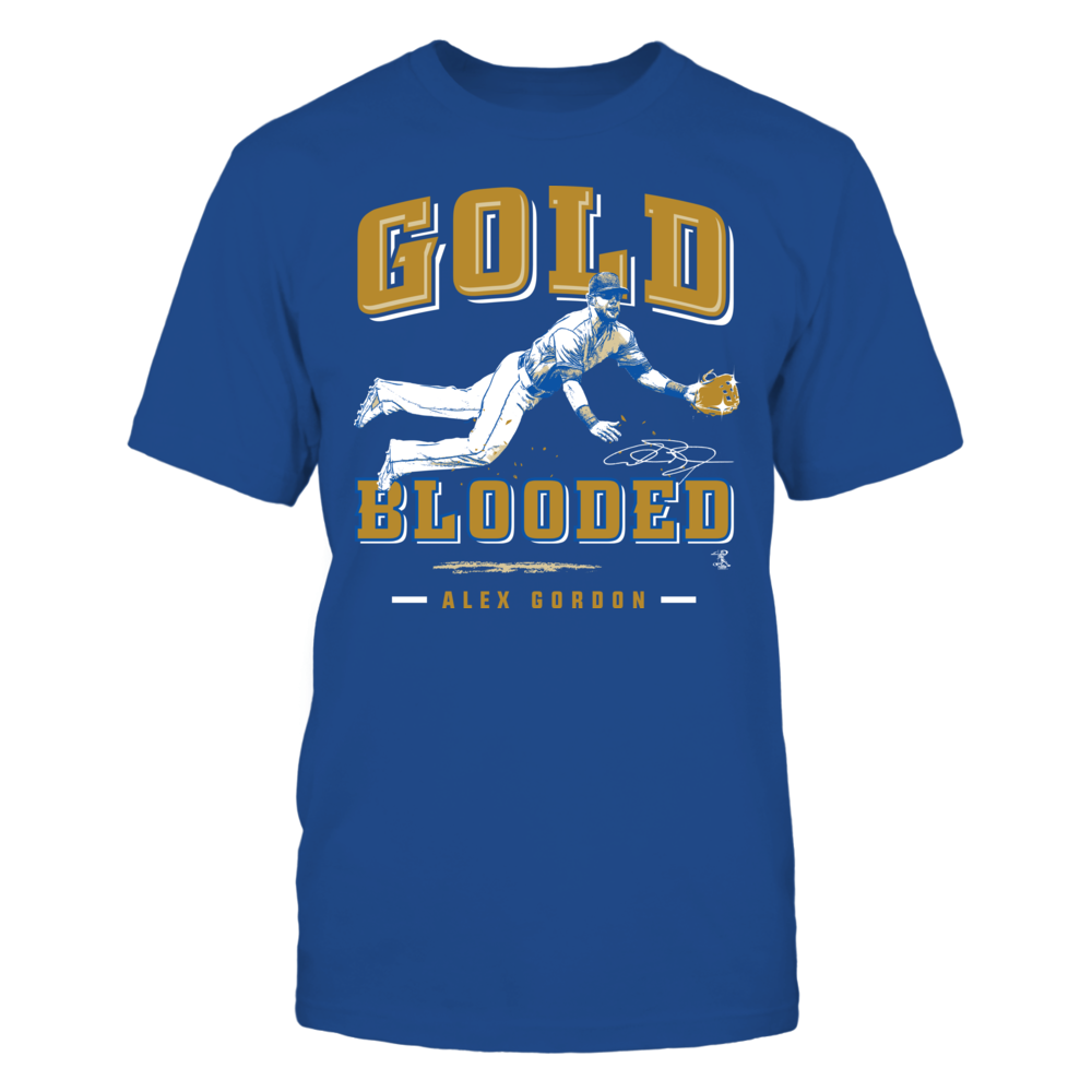 Alex Gordon Alex Gordon - Gold Blooded FanPrint