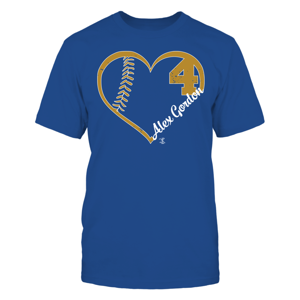 Alex Gordon Alex Gordon - Heart Team FanPrint