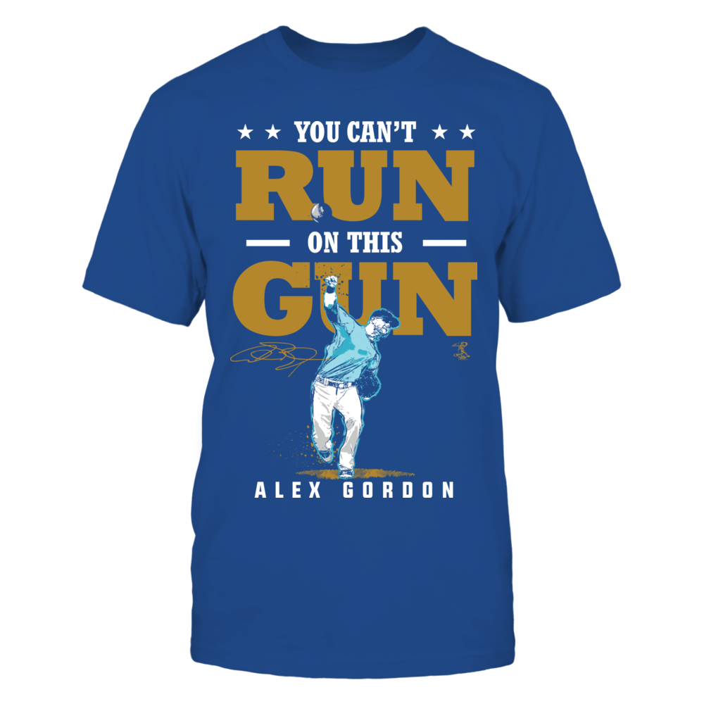 Alex Gordon Alex Gordon - You Can't Run On This Gun FanPrint