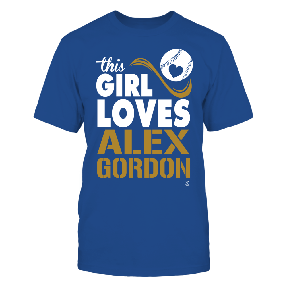 Alex Gordon Alex Gordon - This Girl Loves FanPrint