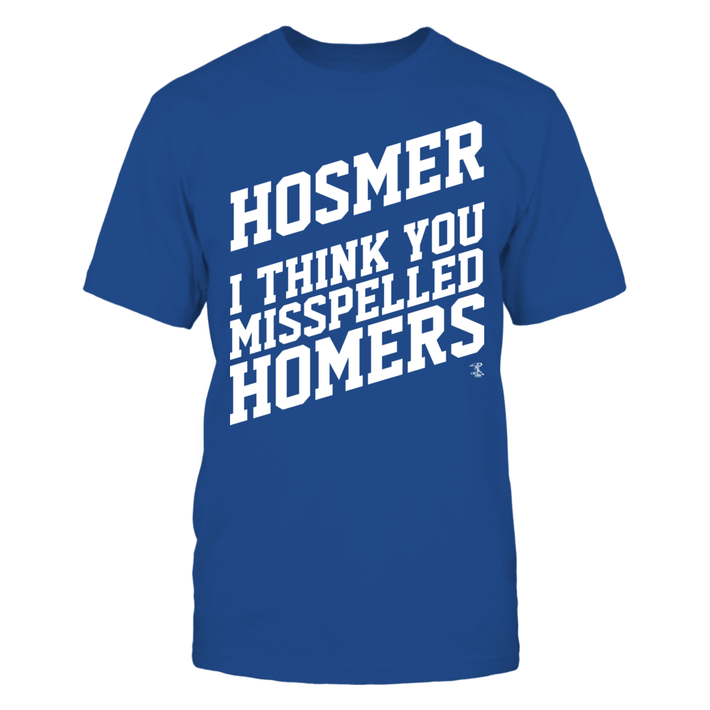Eric Hosmer - Misspelled Homers Front picture