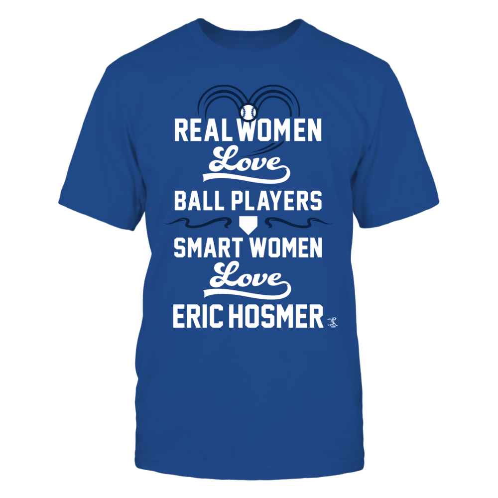 Eric Hosmer - Real Women Smart Women Front picture