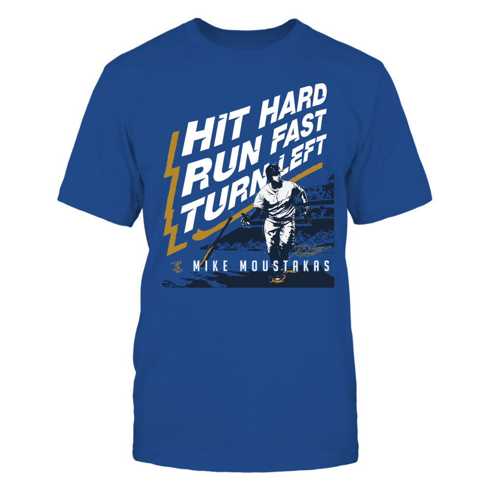Mike Moustakas Mike Moustakas - Hit Run Turn FanPrint