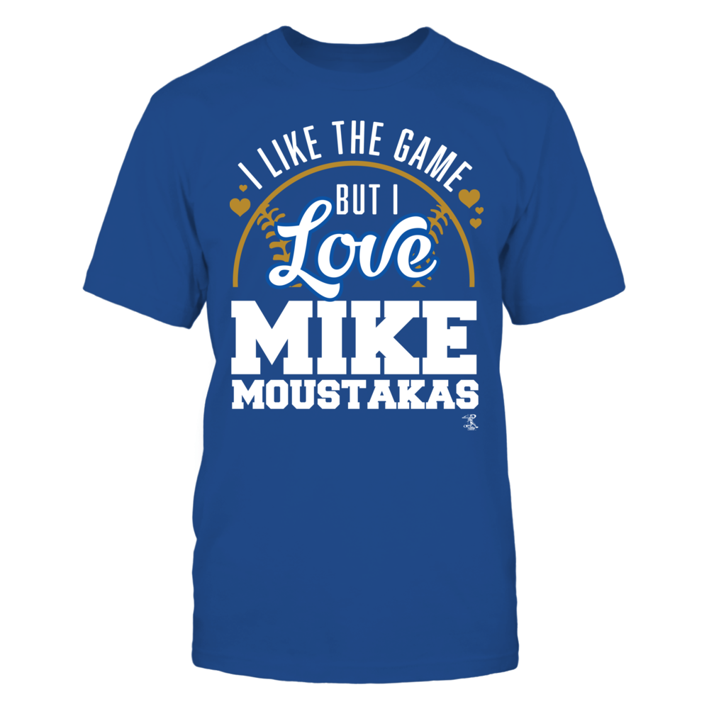 Mike Moustakas - Like The Game Love The Player Front picture