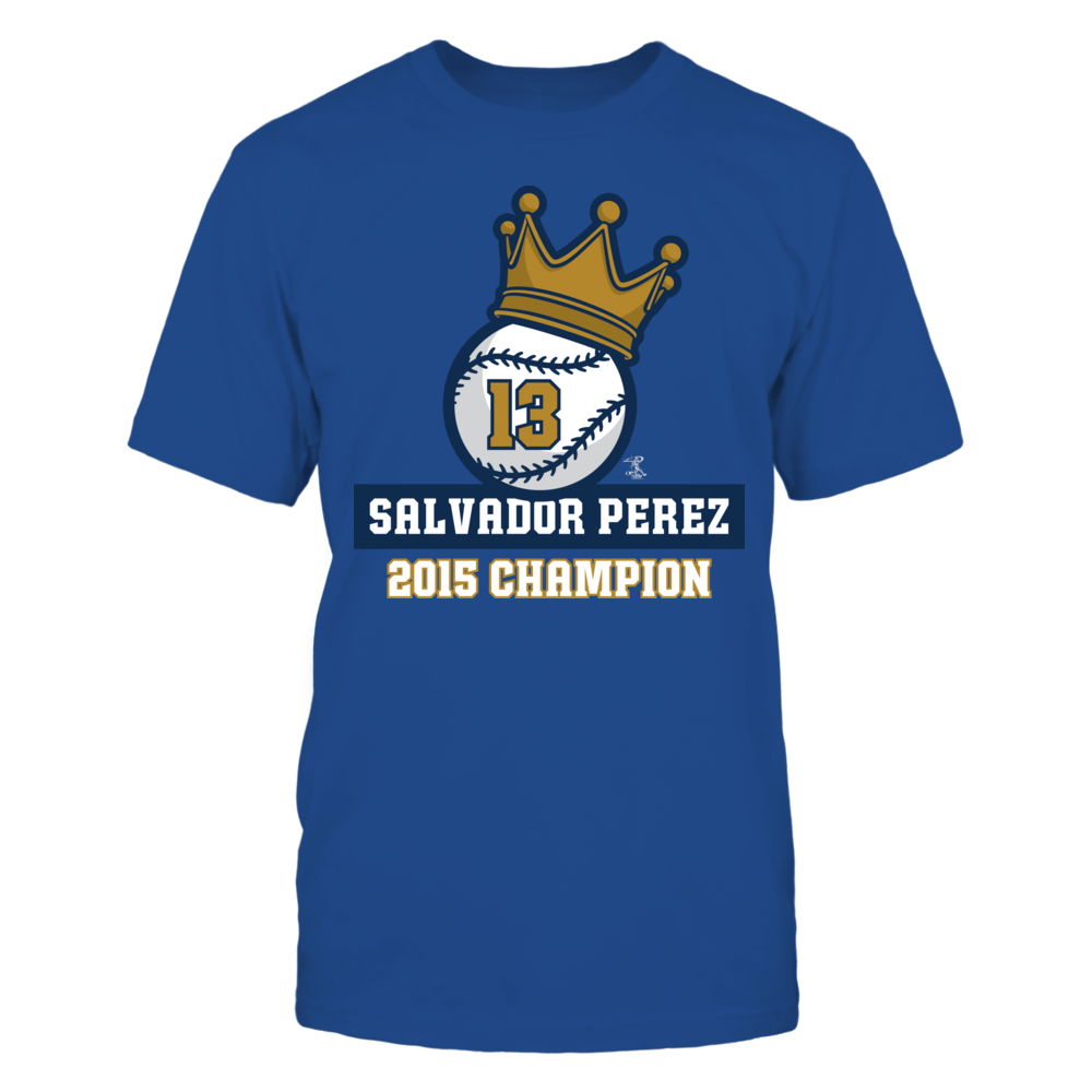 Salvador Perez Salvador Perez - Baseball Crown FanPrint