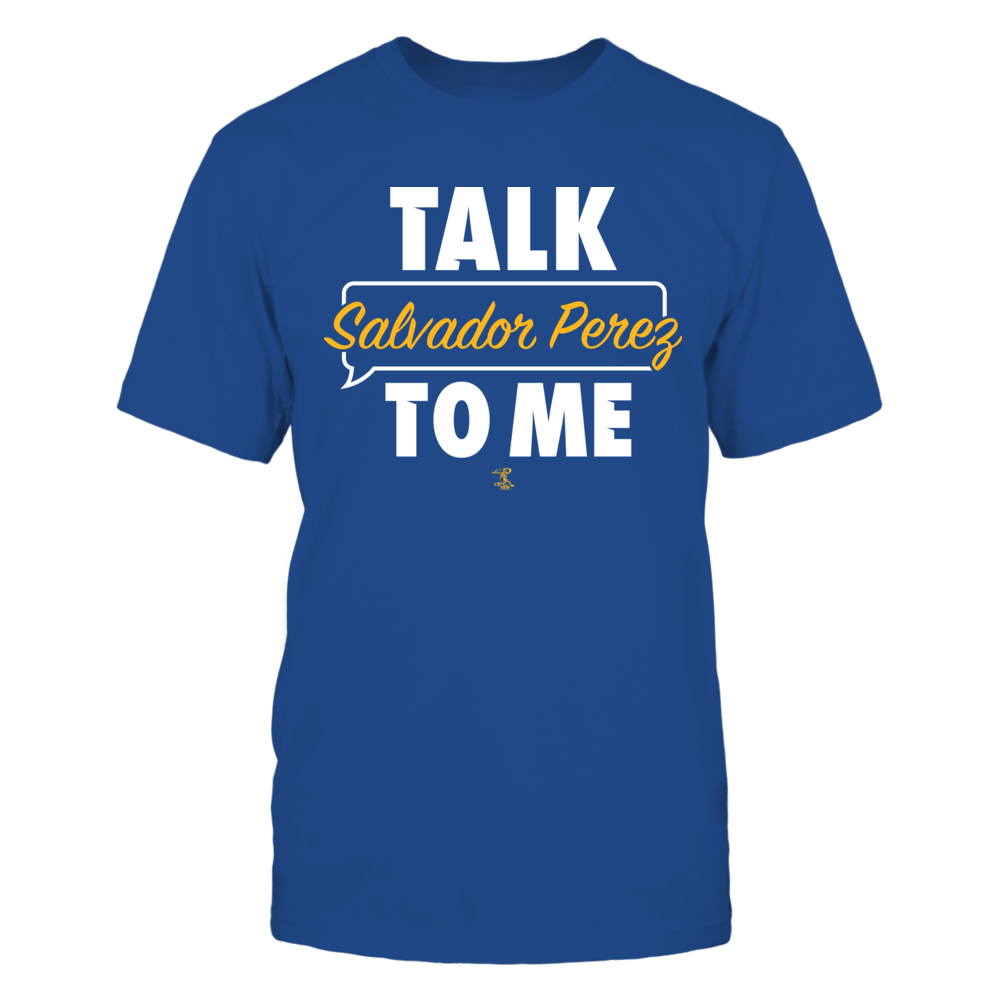 Salvador Perez - Talk To Me Front picture