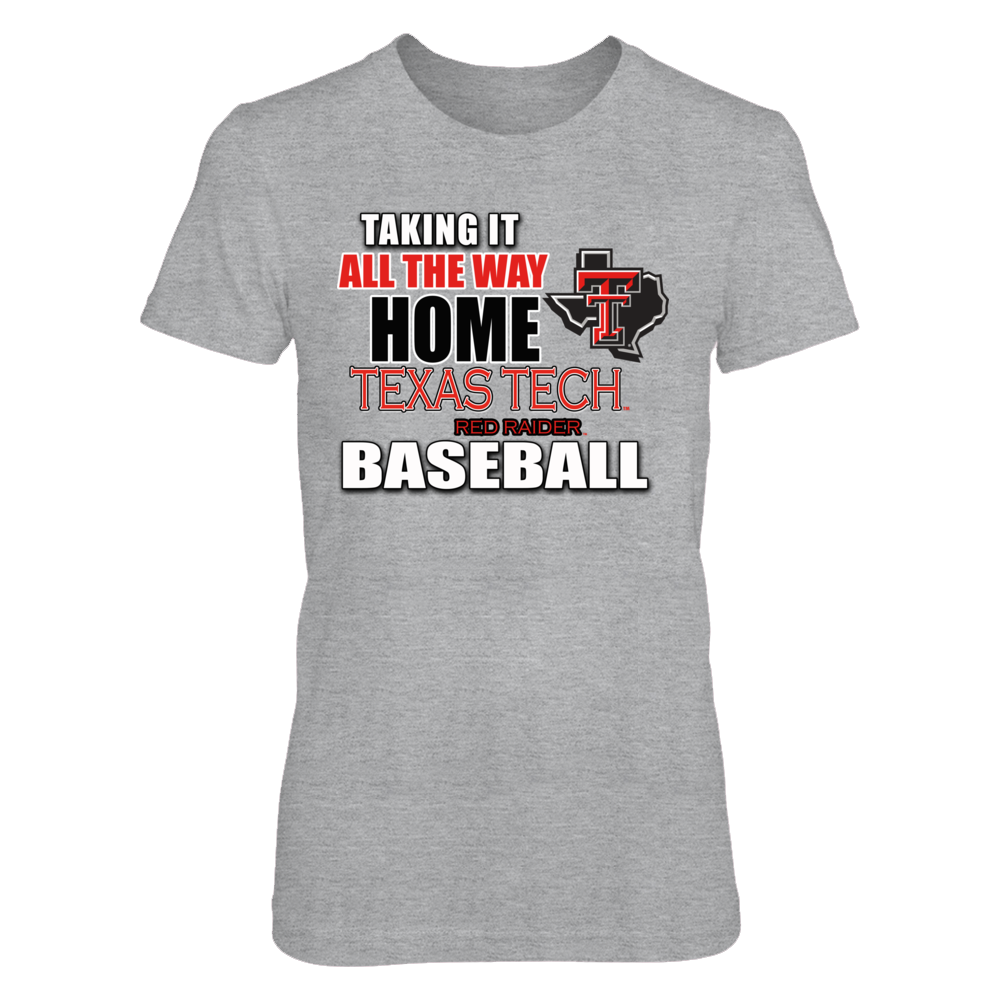 Texas Tech Baseball Shirts and Gifts Front picture