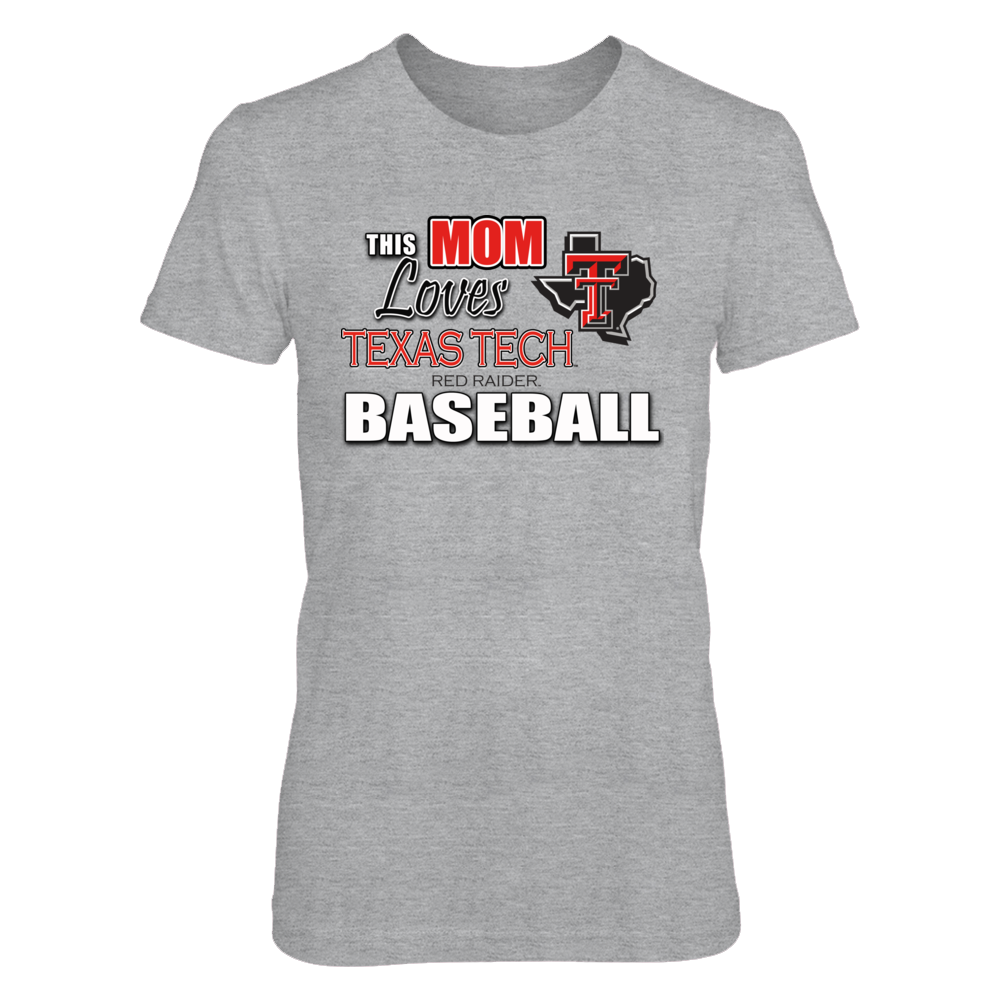 This Mom Loves Texas Tech Baseball Front picture