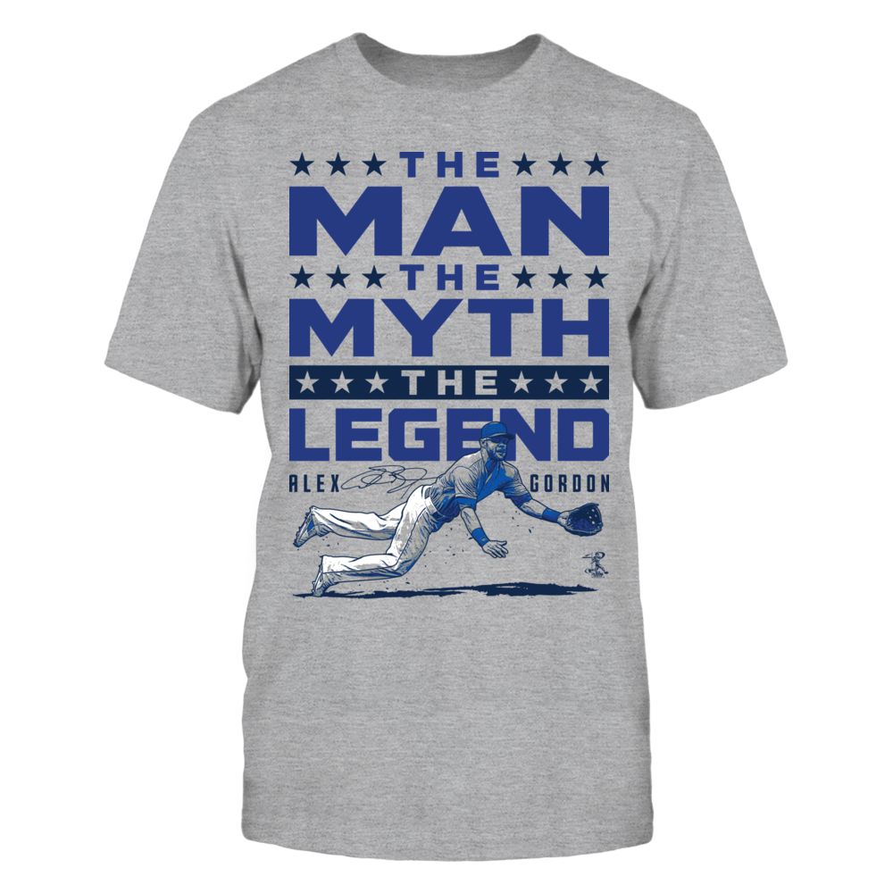 Alex Gordon Alex Gordon - Man Myth Legend FanPrint