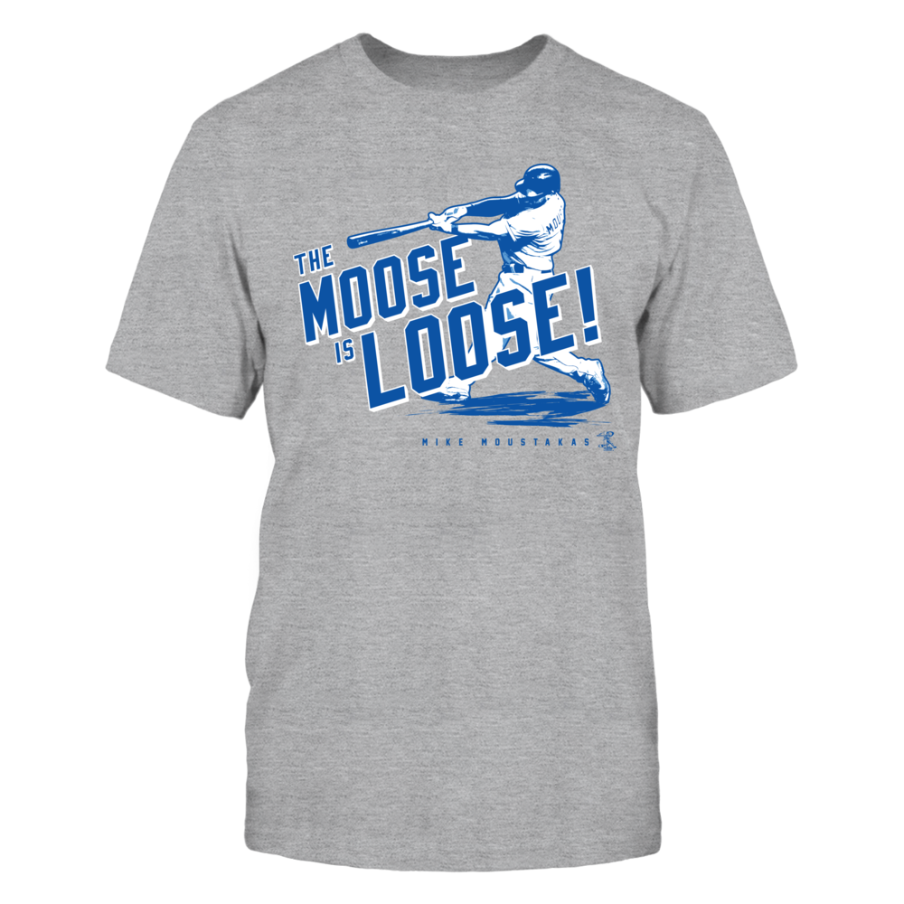 Mike Moustakas - The Moose Is Loose Front picture